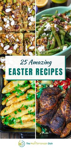 These are 25 of the most amazing recipes to share with family and friends at your Easter Celebration this year! Everything from dessert to main courses is here! #easter #easterdinner #dessert #easterreceipes Side Recipes, Quick Recipes, Family Recipes, Amazing Recipes, Quick Easy Meals, Family Meals, Dinner Recipes, Easy Easter Recipes, Easy Holiday Recipes