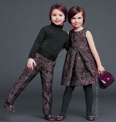 ALALOSHA: VOGUE ENFANTS: Royal collection from Dolce & Gabbana for little girls