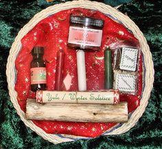 Yule + Sabbat Altar Baskets - pagan wiccan witchcraft magick ritual supplies