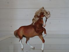 2017. Customized Breyer Traditional Vanilla with Ethereal head(resculpted) to Welsh pony A. Custom by Zane Lahdenranta ( Frosty Birch Studio).