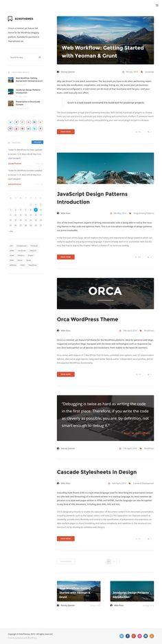 Orca - Responsive WordPress Blog Theme. Download: http://themeforest.net/item/orca-responsive-wordpress-blog-theme/7743922?ref=skarin