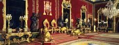 Uno de los salones del Palacio Real (Foto: Patrimonio Nacional)