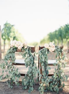 Bride and Groom Dinner Chairs // Rylee Hitchner Photography » Blog