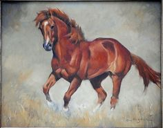 horse painting by Cynthia Rigden
