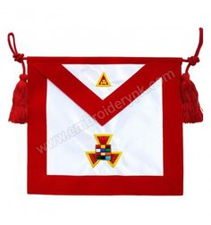 Royal Arch RAM Past High Priest PHP Hand Embroidered Masonic Apron High Priest, Aprons, Past, Arch, Flag, Past Tense, Science, Apron, Belt