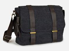 Sac à bandoulière toile / mallette / sac à dos par CrazyLeatherBag, $49.00