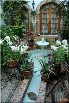 Spanish style homes – Mediterranean Home Decor Mexican Patio, Mexican Hacienda, Hacienda Style, Spanish Courtyard, Spanish Garden, Spanish Style Homes, Spanish House, Outdoor Rooms, Outdoor Living