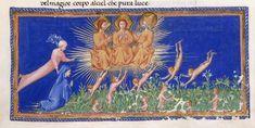River of Light - Dante Alighieri TitleDivina Commedia OriginItaly, N. (Tuscany, Siena?) Datebetween 1444 and c. 1450 LanguageItalian    http://www.bl.uk/catalogues/illuminatedmanuscripts/record.asp?MSID=6468&CollID=58&NStart=36