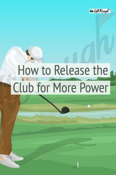Want to add more power and consistency to your game? There's a chance you are releasing the club incorrectly. Let us simplify the release for you and show you the optimal way to release the club. Golf Driver Tips, Golf Drivers, Golf Terms, Golf Room, Golf Putting Tips, Golf Instruction, Driving Tips, Golf Tips For Beginners, Perfect Golf