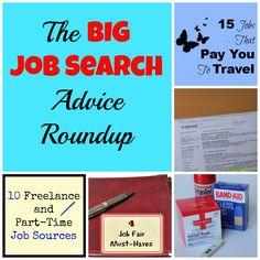 The BIG Job Search Advice Roundup