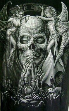 Asta la muerte tiene sus propios ángel y demonio