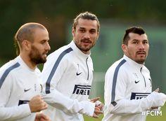 Medel entrena con el Inter