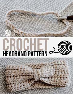 Crochet Chained Ear Warmer - Headband Pattern by Rescued Paw Designs    Click to Read or Pin and Save for Later! www.rescuedpawdesigns.com