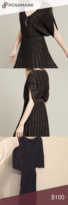 Anthropologie Gallivant Sweater Dress Anthropologie Gallivant Sweater Dress by Knitted & Knotted. Worn once to an event. || Side Note: *This dress runs a size or two big (I tend to wear a size medium, 6/8 in dresses, and this dress is an XS and fits well) Anthropologie Dresses Midi