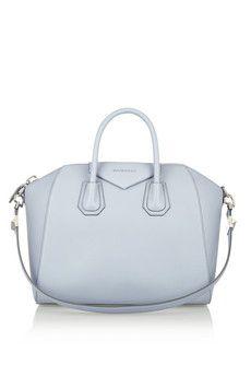 4156df9cce5 Givenchy - Medium Antigona bag in dusky-blue textured-leather