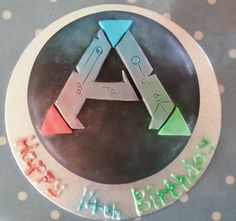 Ark survival evolved birthday cake