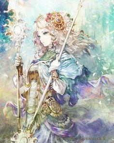 Princess Aquiria - anime, art, character
