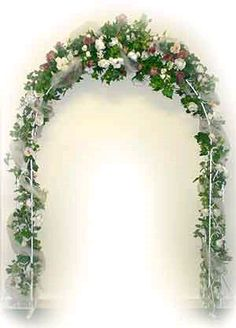 $19.99, decorate it yourself arch, wouldn't be for the grand march, but it could be throughout the room and we could use for a photo backdrop.
