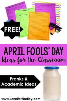 April Fools' Day Ideas for the Classroom - Teaching with Jennifer Findley