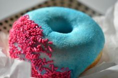 Blue Donuts..?? Looks charming..