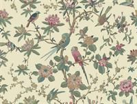 Budgie - SK153282 from Shand Kydd II book. My bedroom wallpaper.