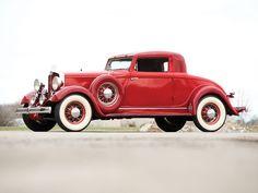 1932 Hupmobile I 226 Eight Coupe - (Hupp Motor Car Corp. Detroit, Michigan, 1908-1940)