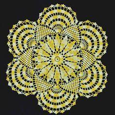 Ravelry: Rising Sun Doily pattern by Elizabeth Schmierer Dockter