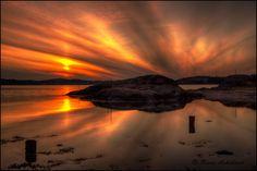Sunset by Rune Askeland, via 500px