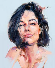 portrait studies, Mateja Petkovic on ArtStation at https://www.artstation.com/artwork/a8aRL