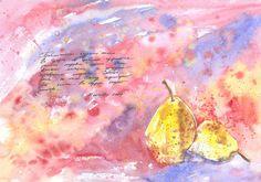 Olga Pavlova.Joy of Creation.: Pears