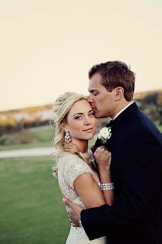 wedding day, bride and groom, cute pose