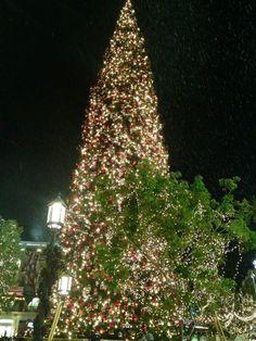 It's snowing at the Americana❄❄❄#Christmastime #familymovienight pic.twitter.com/cji5Erj6
