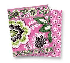 New Vera Bradley Pattern...coming soon!  Priscilla Pink---love the pink and green.  Gotta have one!