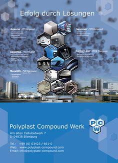 Messestand Design Polyplast Compound GmbH - Werk Eilenburg - Industriemesse