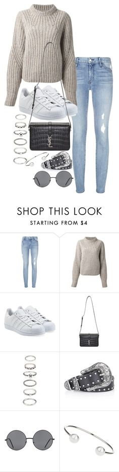 """""""Unbenannt #1661"""" by tyra482 ❤ liked on Polyvore featuring Koral, Isabel Marant, adidas Originals, Yves Saint Laurent, Forever 21 and Topshop"""