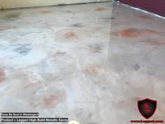 ‪#metallicepoxy #floor #coating installed in one day. Get your products today and go #coat something‬