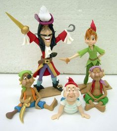 Marzipan Figuren Peter Pan