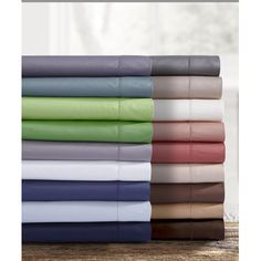 Tribeca Living Egyptian Quality Cotton Pillowcase (Set of 2) Color: Cashmere, Size: Twin