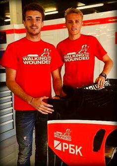 Jules Bianchi & Max Chilton - Marussia