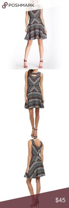 Jessica Simpson Aztec print dress Jessica Simpson Aztec print sundress. Great condition and great quality. This dress is lined. Jessica Simpson Dresses Mini