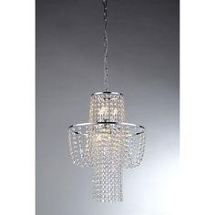 Warehouse of Tiffany Charlotte RL6568 Crystal Pendant Light | from hayneedle.com