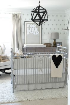 Grey and Beige nursery