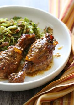 Crock Pot Maple Dijon Chicken Drumsticks   from Amy - try with mix legs and breasts