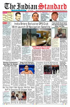 29 APRIL 2016  THE INDIAN STANDARD