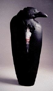 Raven sculpture. I like this for itself, not because of the team...I don't follow football.