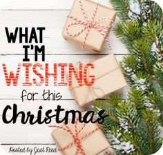 What I'm Wishing For This Christmas - Just Reed