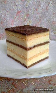 Croatian Cuisine, Croatian Recipes, Bosnian Recipes, Pastry Recipes, Baking Recipes, Cookie Recipes, Torte Cake, Cake Bars, Yogurt Dessert