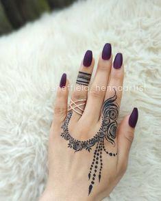 Henna Hand Designs, Mehndi Designs Finger, Henna Tattoo Designs Simple, Mehndi Design Pictures, Unique Mehndi Designs, Mehndi Designs For Fingers, Beautiful Henna Designs, Latest Mehndi Designs, Bridal Mehndi Designs
