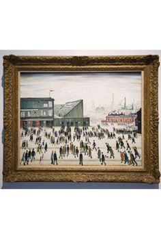 Lowry and the Painting of Modern Life. Tate Britain June to October 2013 Tate Britain, Fashion Stylist, October 2013, June, No Time For Me, Cool Art, Stylists, Places To Visit, To Go