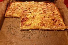 Hefekuchen vom Blech von dodith | Chefkoch Diet Recipes, Cheese, Super, Food, Pizza Pizza, Handsome, Clothes, Bread Dough Recipe, Whole Wheat Pizza